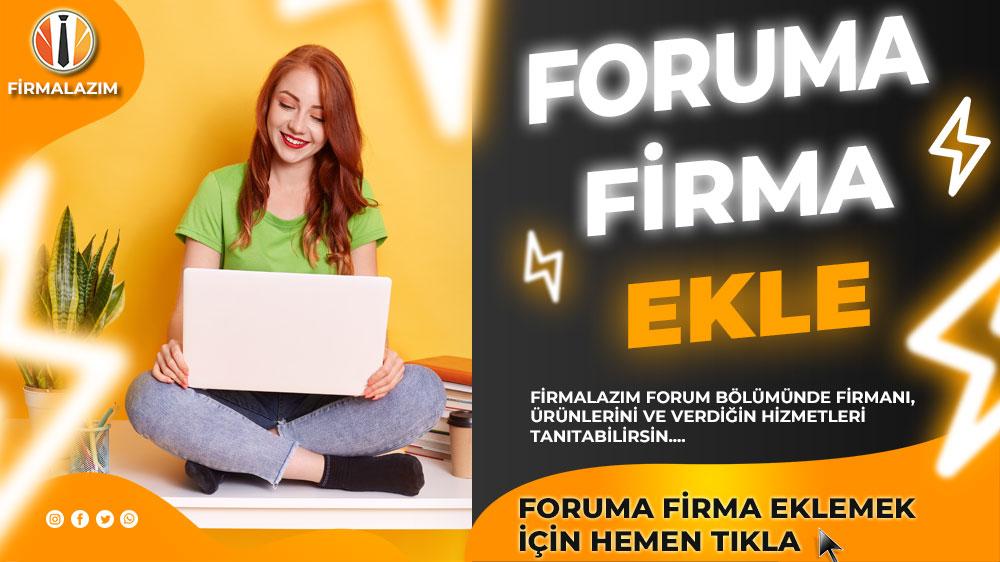 foruma-firma-ekle